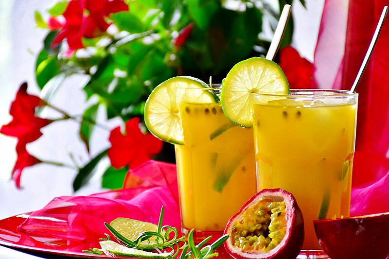 fruit juice granadilla