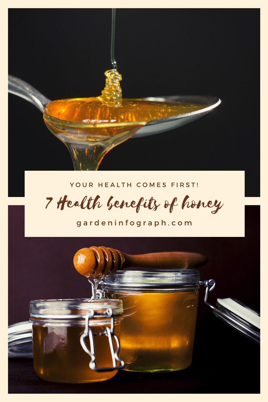 7 Health benefits of honey