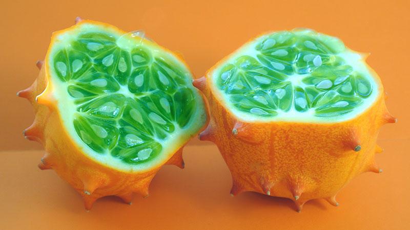 Kiwano (horned melon)